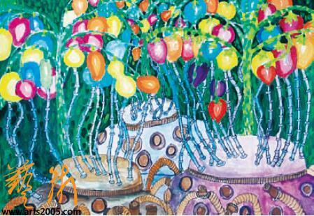 我的科学梦——全国少年儿童幻想绘画大赛获奖作品选图片